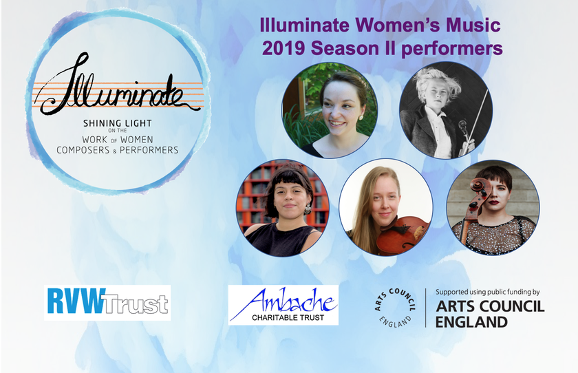 2019 Season II Artists - Illuminate Women's Music